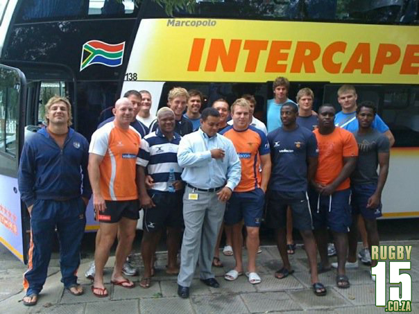 Vodacom Free State team touring to George to face Eagles with Super 14 stars in this squad like Ebersohn, Floors, Scholtz, Pieterse & Jean Botha