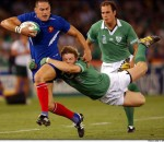 France v Ireland captured by Ross Land /AP