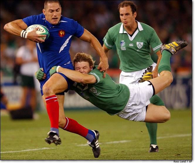 France v Ireland captured by Ross Land /AP