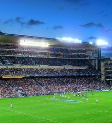 Newlands stadium. Cape Town