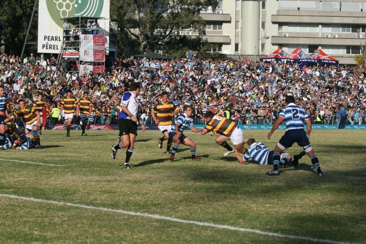 Massive crowds gathered for School Rugby in 2010 (Photo: Ryan Tuck)