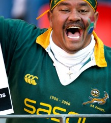 Rugby fans voice their opinions (Photo: Denese Lups/Rugby15)