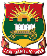 Afrikaanse Hoër Seunskool (Affies) emblem logo