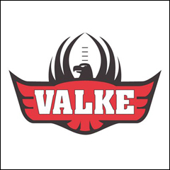 Valke Rugby emblem logo