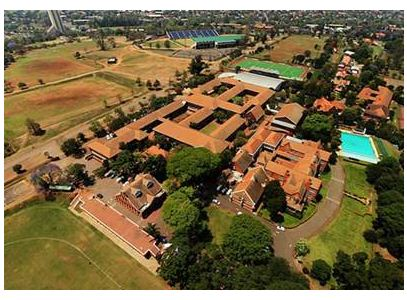 The impressive Campus of Maritzburg College as seen from the air