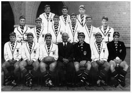 The Skonk Nicholson Dream Team  Back: PJ Lindsay (1977), LM Sharp (1972), K Oxlee (1952)  Centre: JF Eliot (1955), JGM Anderson (1971), OB Taylor (1954), GD Adam (1972), JD McIntosh (1963), IL Smith (1948)  Front: BL Dennison (1973), A van der Watt (1965), DM Anderson (c) (1963), Mr JM Nicholson, CM Jamieson (vc) (1979), BA Sharp (1964), GC de Graaf (1978