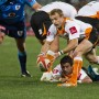 Sarel Pretorius in action for the Toyota FS Cheetahs against the Vodacom Blue Bulls last weekend. Photo by Jako Pienaar.