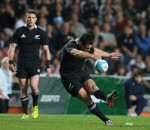Dan Carter in action for the All Blacks. Photo by Getty Images.