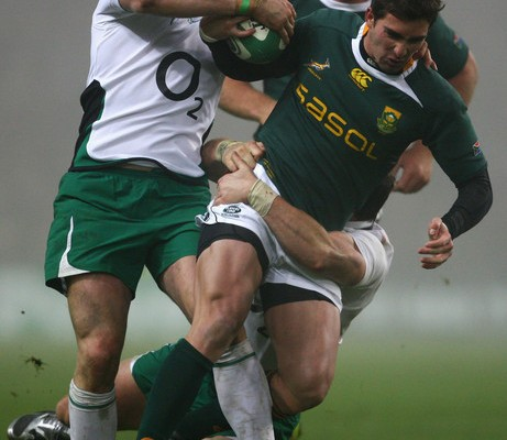 Ireland vs Springboks, Croke park, Dublin, November 2009. Photo by Getty Images.