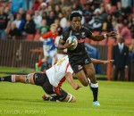Lwazi Mvovo helped the Sharks reach the final (Bruce Taylor)