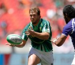 Blitzbokke captain Frankie Horne in action at the Nelson Mandela Bay Sevens in December 2012. Photo by Bertram Malgas /Rugby15.