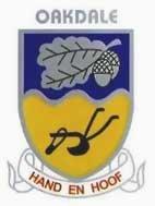 Hoër Landbouskool Oakdale emblem logo skoolwapen