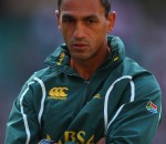 Paul Treu disappointed after a challenging Sevens round in Wellington. Photo by Getty Images.