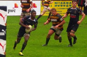 Warrick Gelant - Hoerskool Outeniqua Kwaggas Rugby vs Paarl Gim