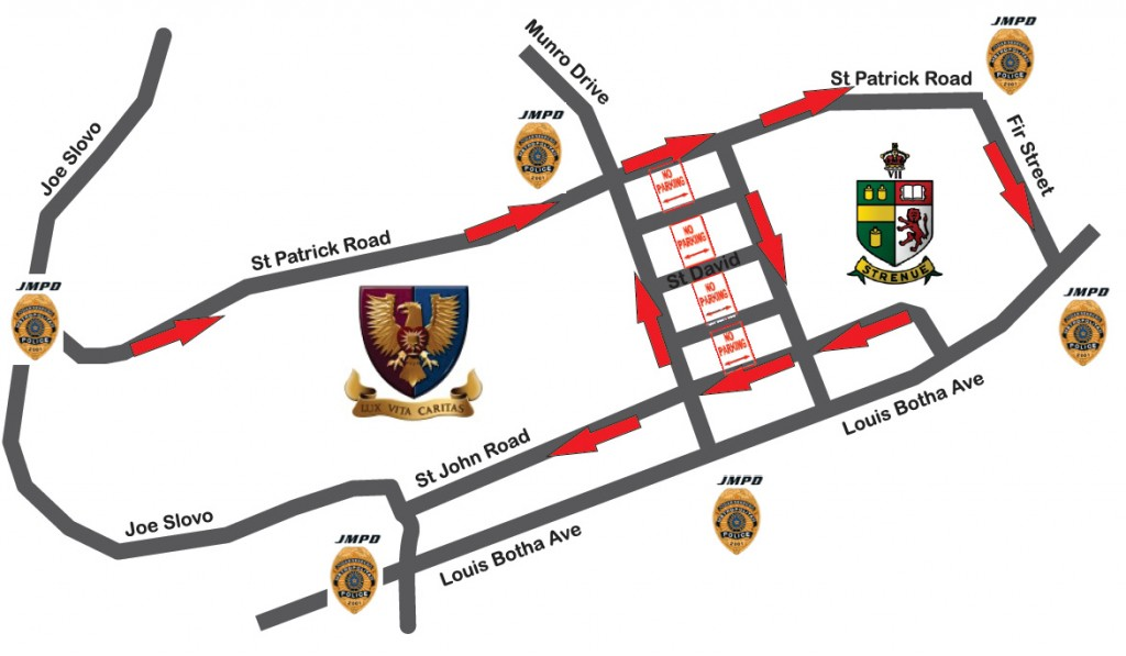 KES Festival Traffic Flow Map