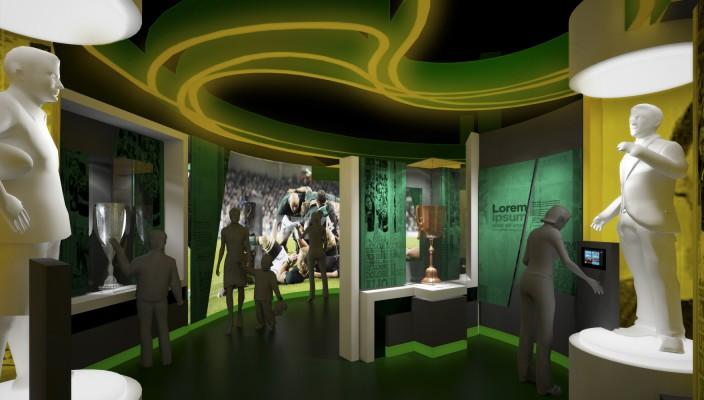 Springbok Experience interior - artist's impression