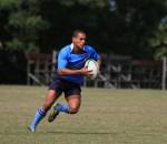 Day 1 Kearsney Festival - Nico Malan captain Selvyn Davids - school rugby