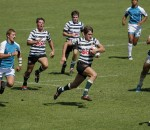 Hoerskool Garfontein (Groen,wit) vs Hoerskool Ermelo (Donker Groen en wit strepe). NuPower Semi Finale te LC De Villiers PTA (2)
