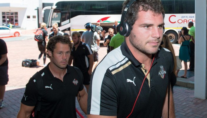 Photo as the Southern Kings arrive at Ellispark
