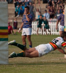 Affies vs Hoerskool Waterkloof 2013 - winning try by fullback Eduan Keyter by William Brown