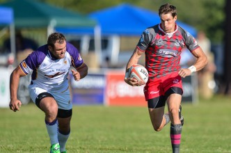 Steval Pumas verses the Touch Down Griffons in a Vodacom Cup rugby match.