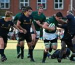 Glenwood High School vs Durban High School (DHS) 2013 - 8th man Jaco Coetzee - by Brett Webber