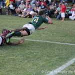 Glenwood High School vs Maritzburg College 25 May 2013 - winning try Morne Joubert - pic by Cyndi Gilbey