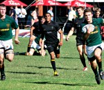 Glenwood High vs Boland Landbou - Wildeklawer Super Schools 2013 - CORNé VERMAAK FLANKED BY SETH VAN DEN HEEVER