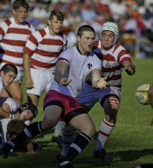 Hilton College vs Michaelhouse 2013 - Cameron Wright ( Hilton captain)