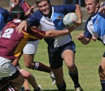 Hoërskool Sentraal vs Hoërskool Sand du Plessis – 27 April 2013 - Franco Track (Flank)  - by Deon Rodgers