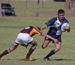 Hoërskool Sentraal vs Hoërskool Sand du Plessis – 27 April 2013 - Neil le Roux (WIng)  - by Deon Rodgers  - by Deon Rodgers