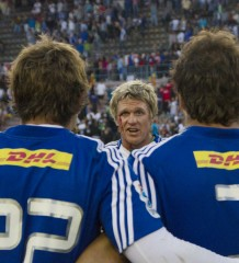 Jean De Villiers addressing stormers