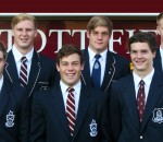 Kearsney College boys playing 2013 KZN u18 team- (back from left) Daniel du Preez, Ayron Schramm, Jean-Luc du Preez; (front) Matt Reece-Edwards, Jordan Meaker, Tristan Tedder