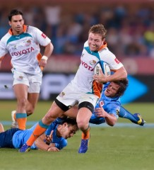 Toyota Cheetahs vs Vodacom Bulls 2013 - by Anton Geyser