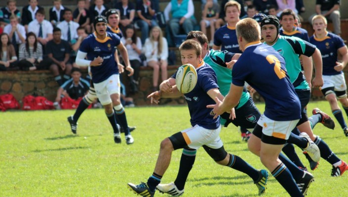 rondebosch boys high rugby vs Stellenberg 2013 [picture by Johann Minnaar]