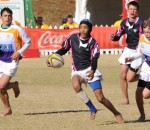 Gianni Lombard during the match between Griffons and Boland on day 5 of the Coca-Cola U13 Craven Week at Afrikaans Hoer Skool