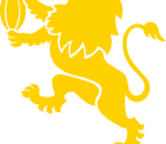 Golden Lions rugby logo