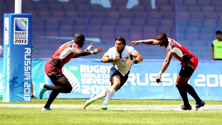 at Rugby World Cup Sevens 2013 in Moscow. Photo- IRB:Martin Seras Lima