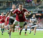 Phillips try for British & Irish Lions against Barbarians 2013