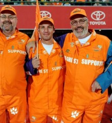 Cheetahs fans honored