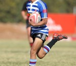 Keenan Abrahams of Western Province during day 2 of the Coca-Cola U16 Grant Khomo