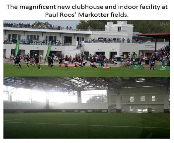 Paul Roos Gymnasium new Clubhouse & indoor facilities at Markotter rugby fields