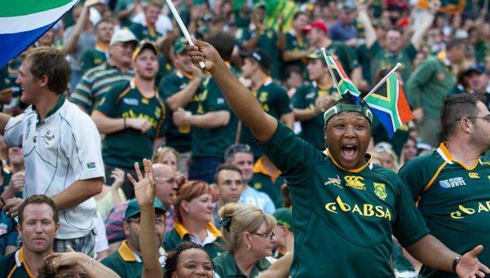 Springbok supporters soccer city