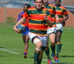 Jaco Coetzee (Glenwood High School) participating in the 2012 Lantic Sevens School Rugby
