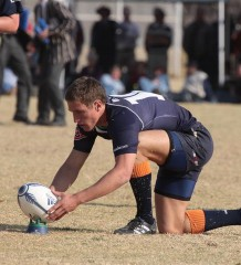 Johan Goosen 67m penalty kick for Grey College vs Paul Roos Gymnasium 2010 - School Rugby