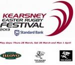 Kearsney College Easter Rugby Festival 2013 banner