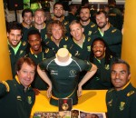 The Springbok Experience 1st Birthday celebration on Heritage & National Braai Day