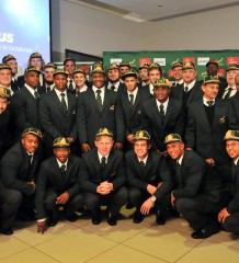 Springbok under 20 Capping Ceremony
