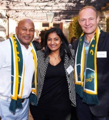 Chester Williams, Priya Naidoo - Tsogo Sun Group General Manager of Comm...