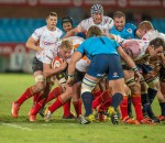 PRETORIA, South Africa, 04 SEPTEMBER 2015 : Gerhard Olivier of the Cheetahs  during the ABSA CURRIE CUP Rugby match between the BLUE BULLS and the FREE STATE CHEETAHS at Loftus Versfeld in Pretoria, South Africa on 04 SEPTEMBER 2015. Photo by Anton Geyser